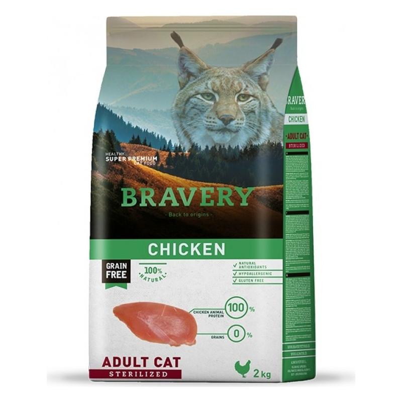 BRAVERY chat stérilisé