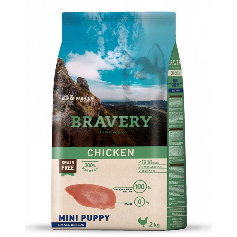croquette bravery chiot