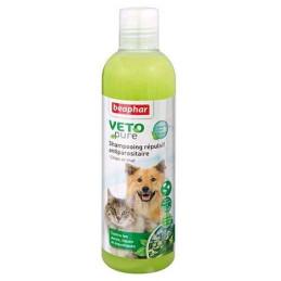 Shampooing répulsif antiparasitaire pour chien et chat - Beaphar